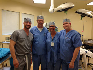 Staff at Stonegate Surgery Center